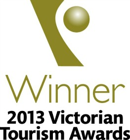 Winner of the Excellence in Food Tourism Victorian Tourism Awards 2013